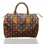 Authentic Louis Vuitton Cerises Cherry Speedy 25 Bag Purse