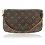 Authentic Louis Vuitton Monogram Accessories Pochette Handbag
