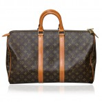 Authentic Vintage Louis Vuitton Carryall Keepall 45 Handbag/Duffel Bag