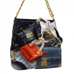 Louis Vuitton Limited Edition Patchwork Tribute Collector's Bag & Case