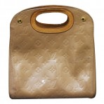 Authentic Louis Vuitton Light Brown Vernis Leather Noisette Handbag