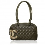 CHANEL Small Camera Limited Edition Camoflauge Bag Purse