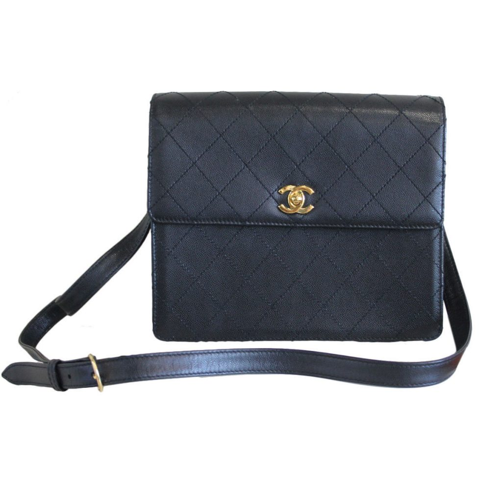 c47c44a90e5330 Black Chanel Crossbody Leather Bag | Stanford Center for Opportunity ...