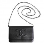 Chanel WOC Wallet on Chain Black Caviar Bag Purse