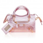 Balenciaga Mini City Gold Rose Poudre 2014 Brand New