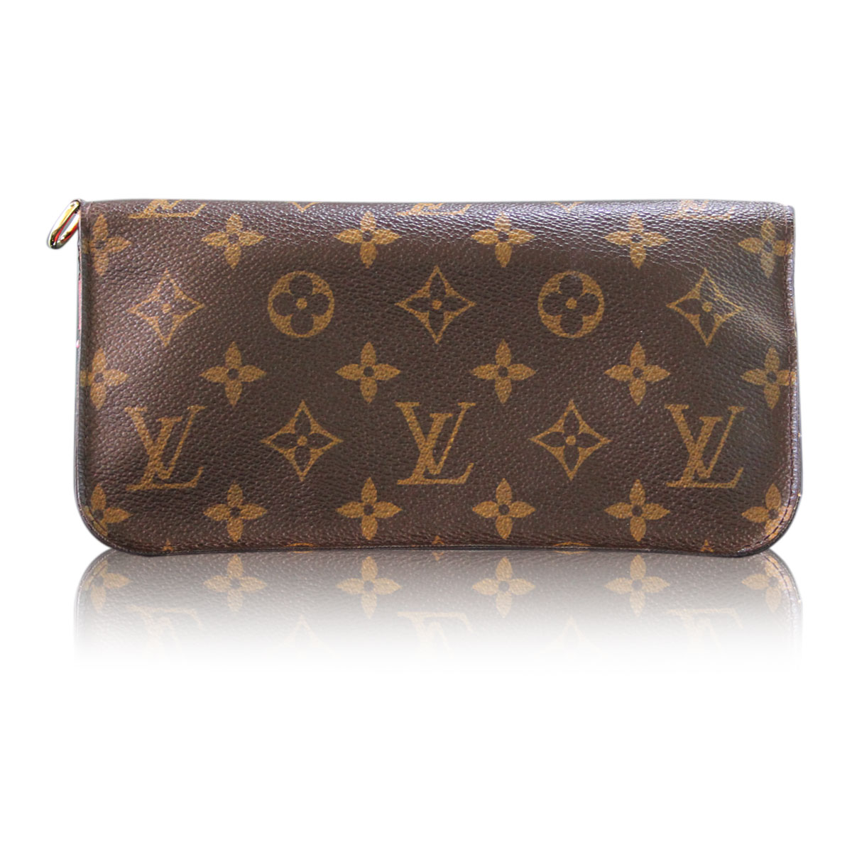 3d2d21fd727 Louis Vuitton Monogram Portefeuille Insolite Rose Pop Bifold Wallet