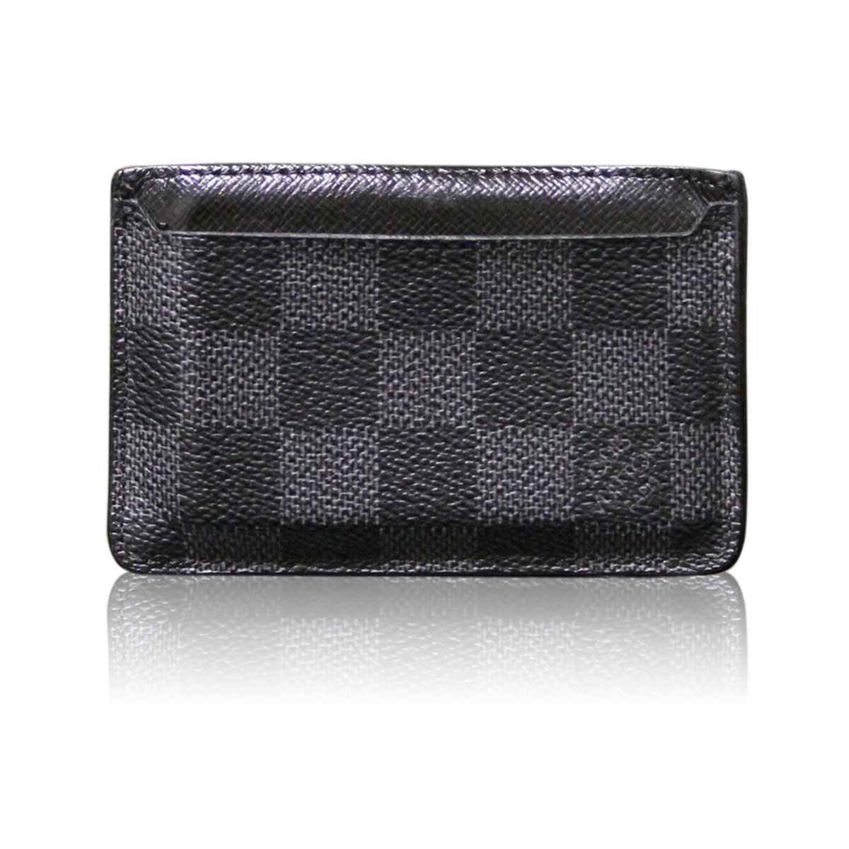 Louis Vuitton Damier Graphite Business Card Holder Wallet