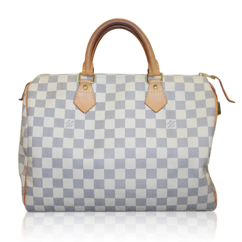 louis vuitton damier azur speedy 30 handbag sellyourhandbag. Black Bedroom Furniture Sets. Home Design Ideas
