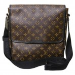 Louis Vuitton Macassar MM Messenger Bag