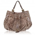 Louis Vuitton Limited Edition Irene Coco Suede & Patent Leather Shoulder Bag