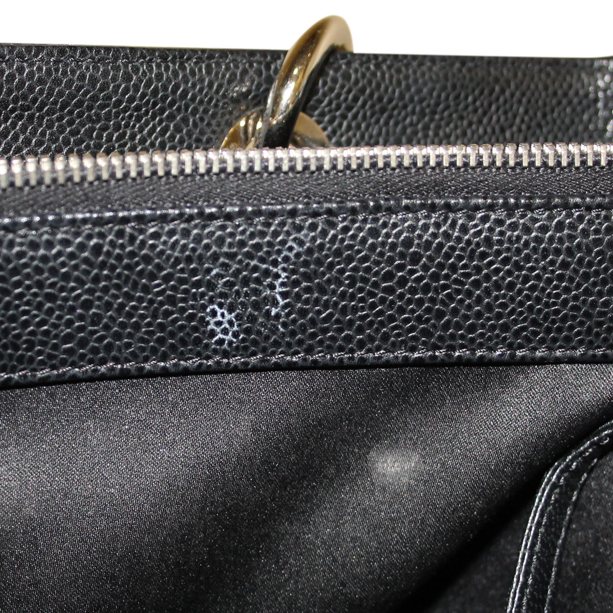 how to clean black spots on leather