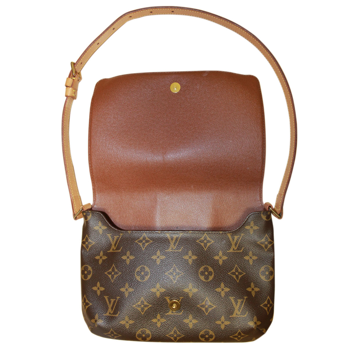 louis vuitton musette tango monogram canvas handbag. Black Bedroom Furniture Sets. Home Design Ideas