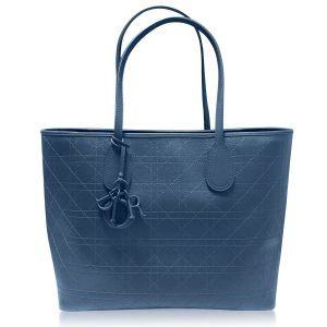 Christian Dior Blue Panarea Canvas Tote