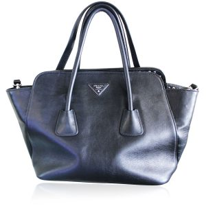 Prada Large Studded East West Tote Boca Raton