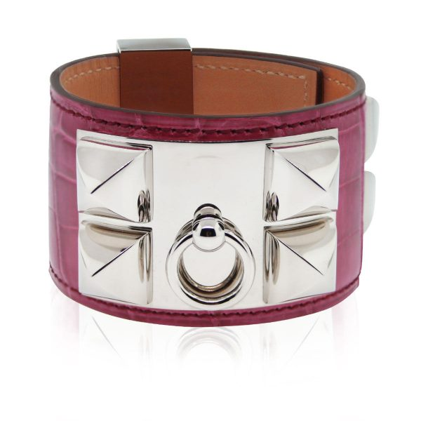 Authentic Hermes CDC Fuchsia Cuff Boca Raton