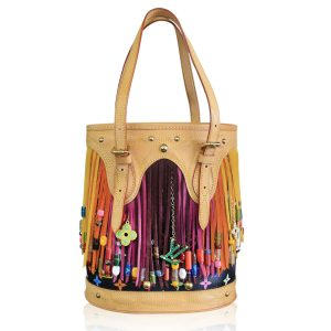 Louis Vuitton Multicolore Fringe Bucket Bag Boca Raton