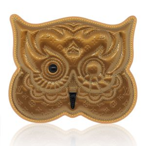 Louis Vuitton Limited Edition Owl Gold Cross Body Bag
