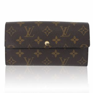 Louis Vuitton Sarah Monogram Canvas Wallet Boca Raton