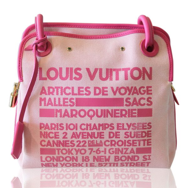 Louis Vuitton Articles de Voyage Pink Rider Bag Boca Raton