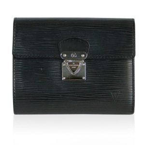Louis Vuitton Koala Black Epi Leather Wallet Boca Raton