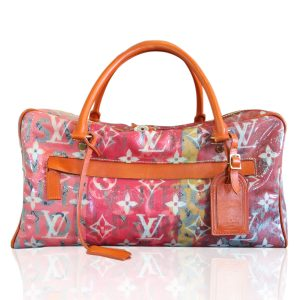 Louis Vuitton Richard Prince Le Pink Denim Defile Weekender PM Boca Raton