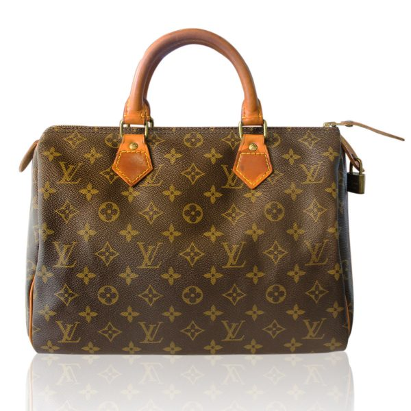 Louis Vuitton Vintage French Company Speedy 30