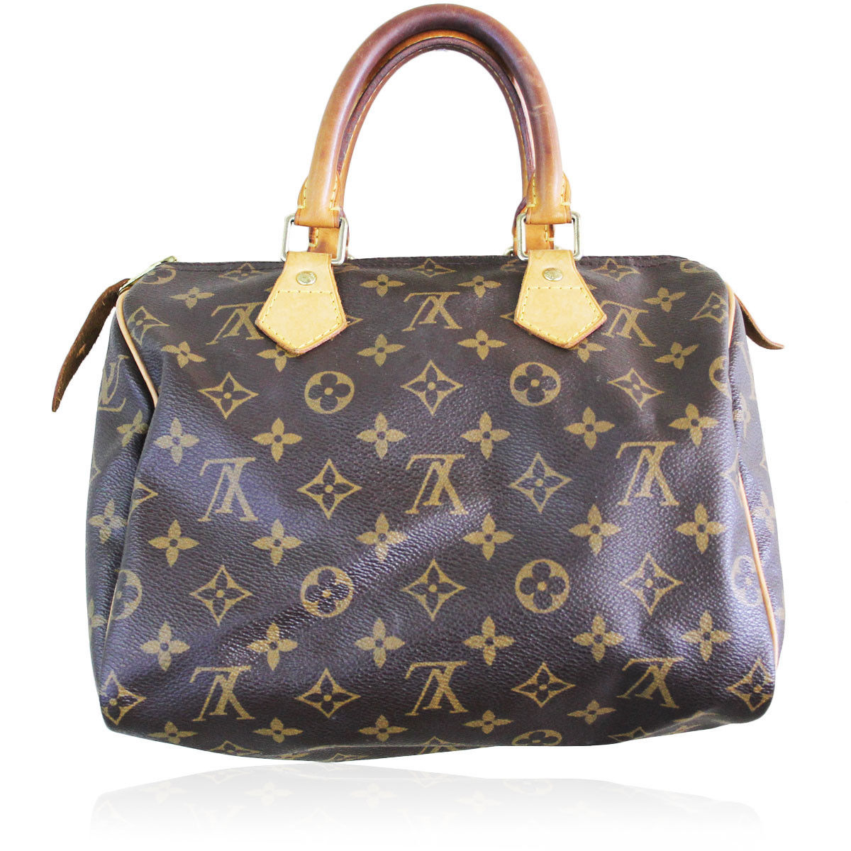 authentic louis vuitton monogram speedy 25 handbag