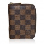 Louis Vuitton Damier Ebene Zippy Coin Purse in Box