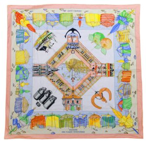 Hermes 100% Cotton Scarves Boca Raton