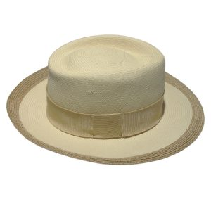 Authentic Hermes Panama Straw Hat