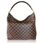 Louis Vuitton Damier Ebene Portobello PM Handbag Purse
