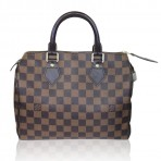 Louis Vuitton Speedy 25 Damier Ebene Handbag in Box