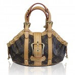 Louis Vuitton Monogram Canvas Theda PM Handbag Purse