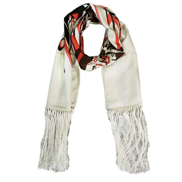Hermes Pre-owned Fringed Scarf