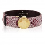 Louis Vuitton Mini Monogram Cerise Cherry Wish Bracelet