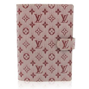 Louis Vuitton Cherry Mini Lin Monogram Agenda Planner