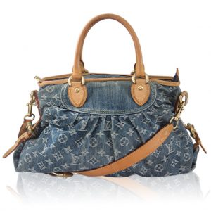 Louis Vuitton Denim Neo Cabby MM in dust bag Boca Raton