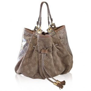 Louis Vuitton Limited Edition Coco Suede Handbag