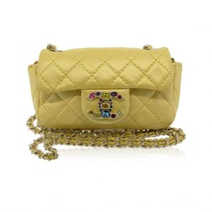 Chanel limited edition jeweled mini flap boca raton