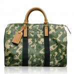 Louis Vuitton Speedy 35 Camouflage Monogramouflage Handbag in Box