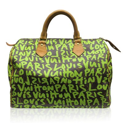 Louis Vuitton Stephen Sprouse Speedy 30 Graffiti Handbag in Box