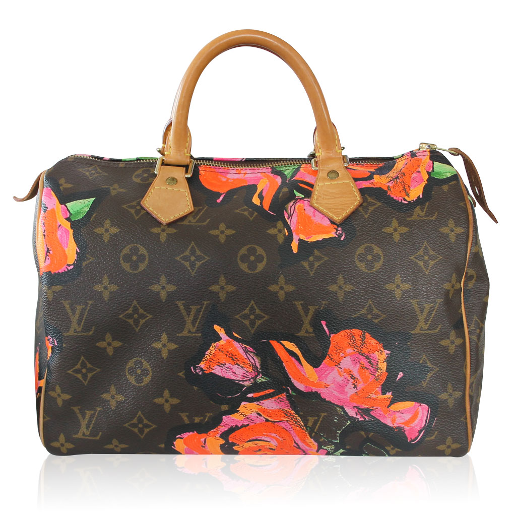 c1ae927bba52 Louis Vuitton Stephen Sprouse Speedy 30 Roses in Box