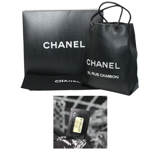 583a8fcf8ae7 Chanel Petit 31 Rue Cambon Black Leather Runway Tote Bag in Box No. 12