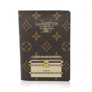Louis Vuitton limited edition trunks and locks passport holder