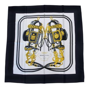 Authentic Hermes Brides de gala scarf