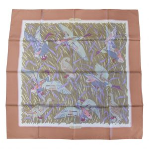 Authentic Hermes Silk Scarves