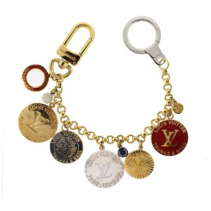 Louis Vuitton Trunks and Bags Coin Key Chain