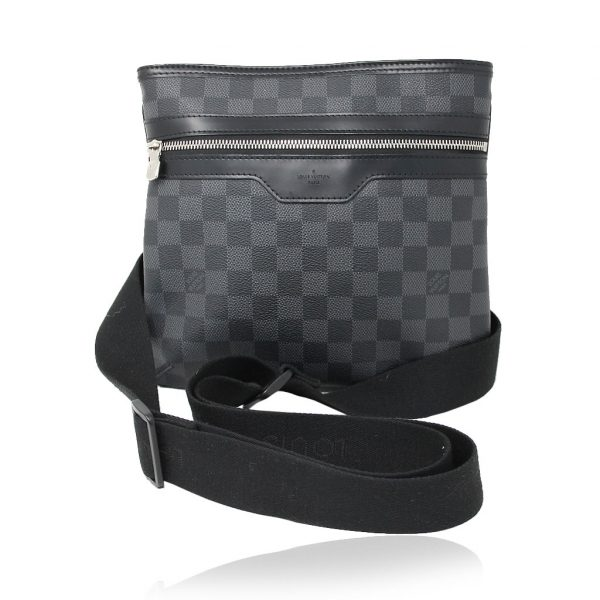 Louis Vuitton Graphite Messenger Bag