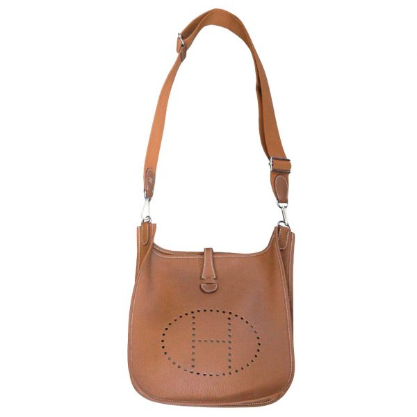 Hermes Evelyne III 29 Taurillon Clemence Gold Purse