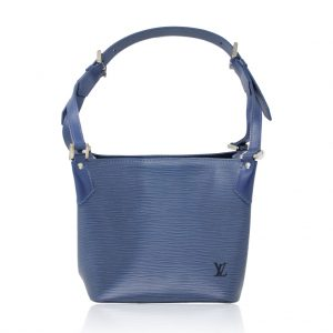 Louis Vuitton Mandala Blue epi bucket bag